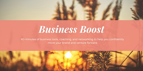 The Solopreneur Society Business Boost tickets