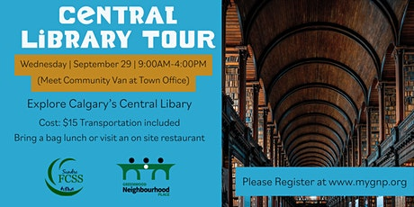 55+ Central Library Tour tickets