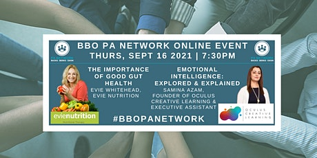 BBO PA Network ONLINE - Nutrition: Gut Health & Emotional Intelligence tickets
