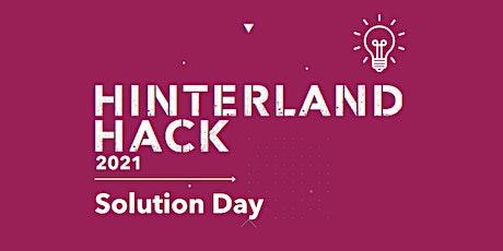 Hinterland Hack 2021 | Solution Day tickets