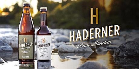 BEERTASTING mit Haderner Bio-Brauerei & FOODPAIRING Tickets