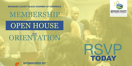 Open House & Membership Orientation tickets