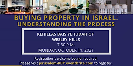 Buying Property in Israel: Understanding the Process tickets