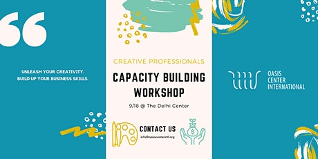 Creative Professional Capacity Building Workshop tickets