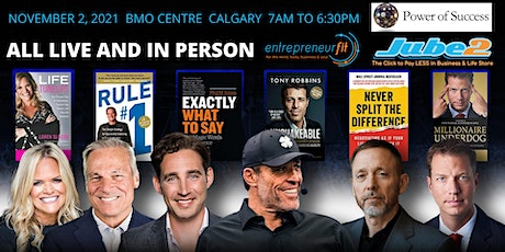 Tony Robbins & Friends LIVE in YYC - DISCOUNT & TI tickets