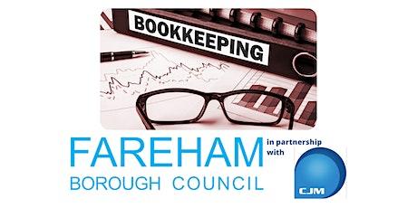 FREE Bookkeeping Webinar | Fareham Business Support tickets