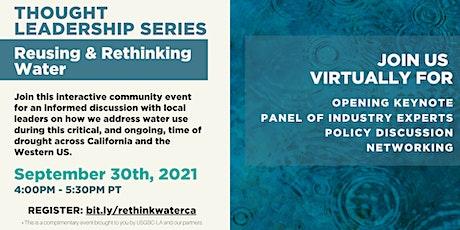 USGBC-LA Thought Leadership Series: Reusing & Rethinking Water tickets