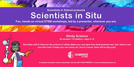 Science Literacy Week: Sticky Science! tickets