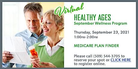 Healthy Ages Virtual September Wellness Program tickets