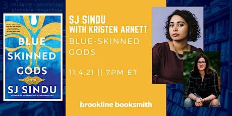 SJ Sindu with Kristen Arnett: Blue-Skinned Gods tickets