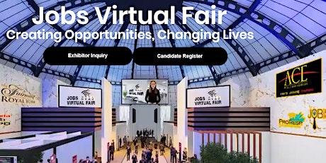 Jobs Virtual Fair October 2021 Edition tickets