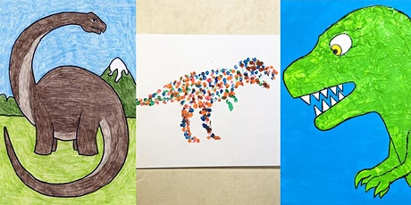 LowellArts Youth Class: Dynamic Dinosaurs with Sharon Brandner tickets
