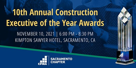 10th Annual Executive of the Year Awards tickets
