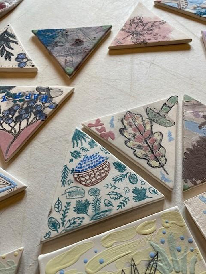Community Garden Tile Project (Clay tiles) - Sunday September 19 image