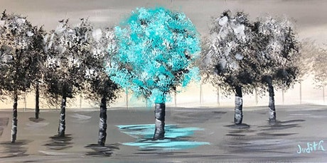 Paint Night in Rockland - Glowing trees at G.A.B.'s tickets