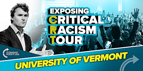 Exposing Critical Racism Tour at University of Vermont tickets