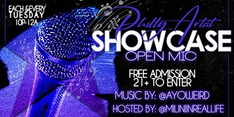 Philly Artist Showcase/Open Mic tickets