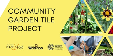 Community Garden Tile Project (Glass tiles) - Sunday September 26 tickets