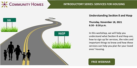 Understanding Section 8 and HASP 11/18/21 tickets