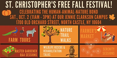St. Christopher's FREE Fall Festival at Jennie's Farm on Saturday, Oct. 2! tickets