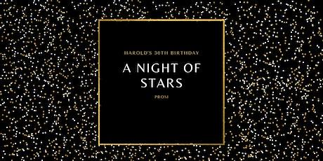A Night of Stars: Harold's 30th Birthday tickets
