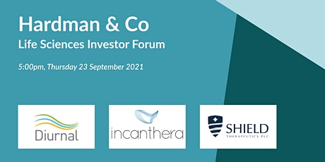 Hardman & Co Life Sciences Investor Forum tickets