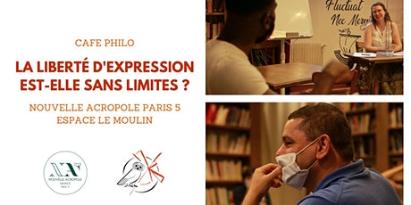 Café Philo : La liberté d'expression est-elle sans limites ? billets