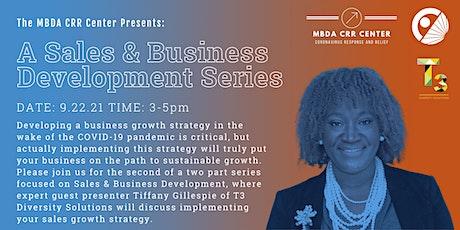 A Sales & Business Development Series: Part 2 tickets