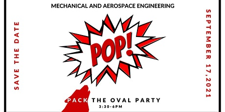 MAE POP (Pack the Oval Party) 2021 tickets