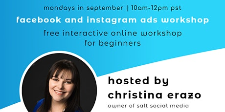 Facebook And Instagram Ads For Beginners tickets