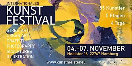 URBAN ART CLASH // Int. Kunstfestival Hamburg 2021 Tickets