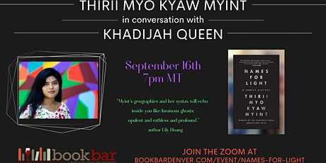Thirii Myo Kyaw Myint In Conversation with Khadijah Queen tickets