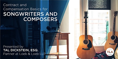 Contract and Compensation Basics for Songwriters and Composers tickets
