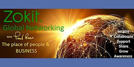 Zokit Global Networking featuring Jim Britt tickets