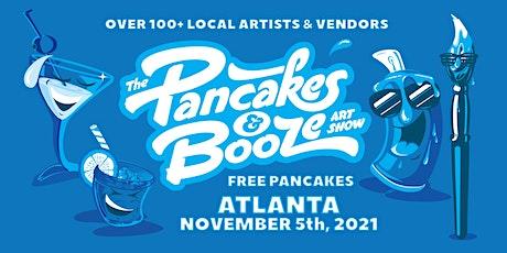 The Atlanta Pancakes & Booze Art Show tickets