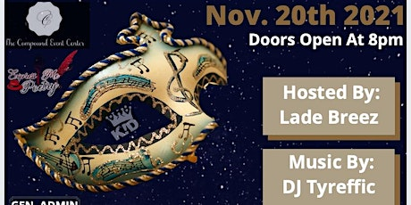 KIDent! & The Compound Event Center presents The Masqurede and Sneaker Ball tickets