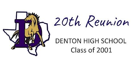 Denton High School '01 Class Reunion tickets
