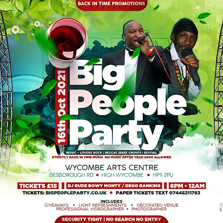 BIG PEOPLE PARTY image