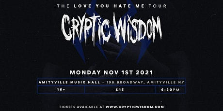 Cryptic Wisdom tickets