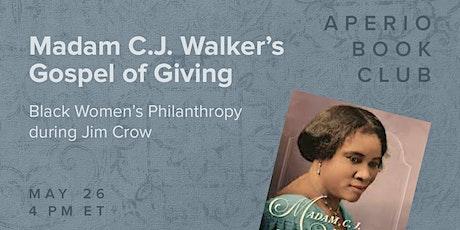 Aperio Book Club · Madam C. J. Walker's Gospel of Giving tickets