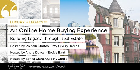 Online Home Buying Experience with Andre Duncan tickets