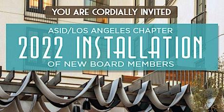 ASID Los Angeles 2022  Board Installation tickets