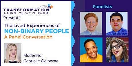 The Lived Experiences of Non-binary People: A Panel Conversation bilhetes