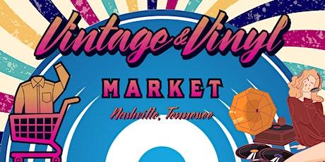 Vintage & Vinyl Market tickets