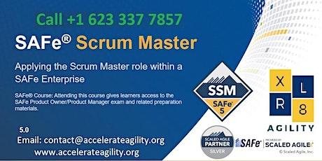 SAFe Scrum Master Certification tickets