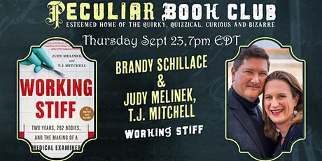 Sept 23 at 7PM! Working Stiff with Judy Melinek and TJ Mitchell! tickets