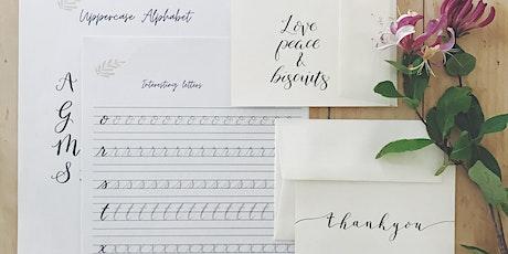 Beginner's Brush Pen Calligraphy tickets