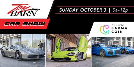 Toy Barn Car Show presented by Carma Coin tickets