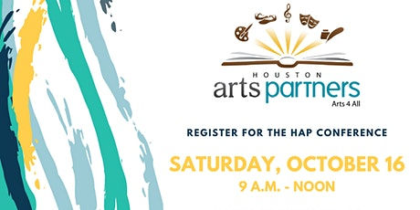 Houston Arts Partners Conference tickets