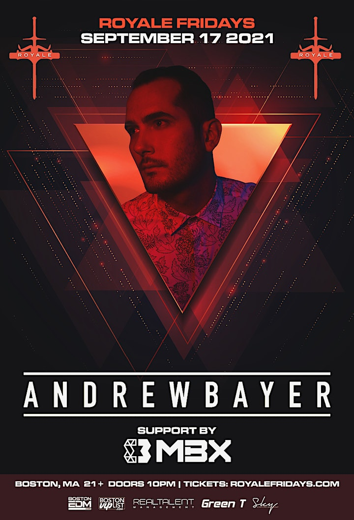 Andrew Bayer at Royale   9.17.21   10:00 PM   21+ image